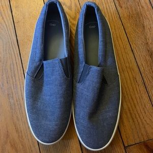 NWT - Gap Chambray Slip On Shoes - Size 10